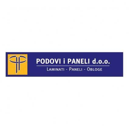 free vector Podovi paneli