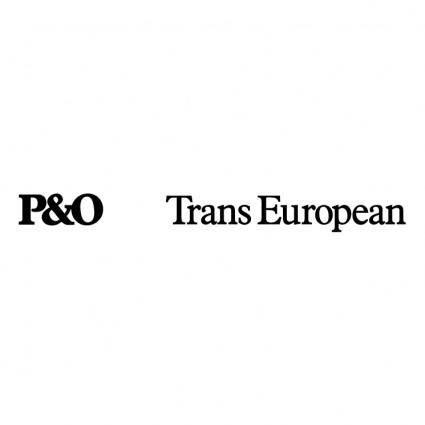 free vector Po trans european