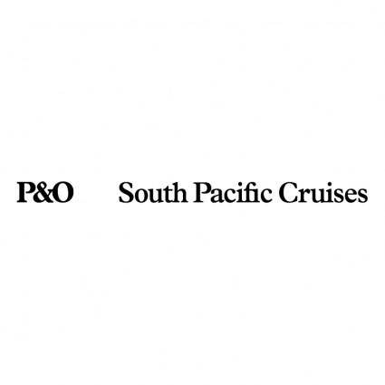 Po south pacific cruises