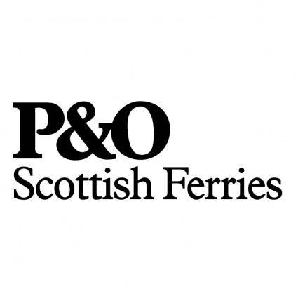 Po scottish ferries