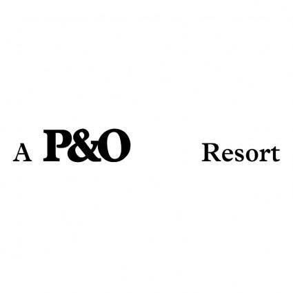 free vector Po resort