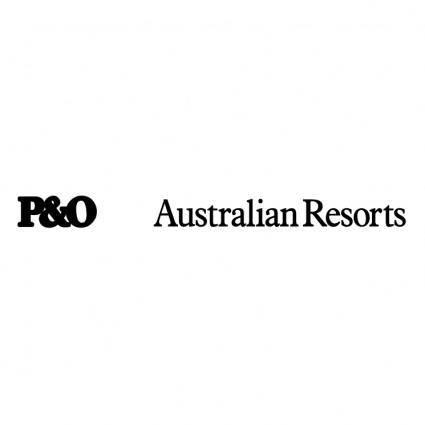 free vector Po australian resorts