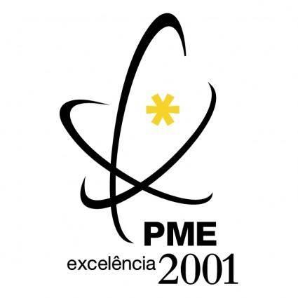 free vector Pme excelencia 2001