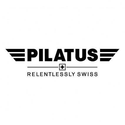 Pliatus aircraft