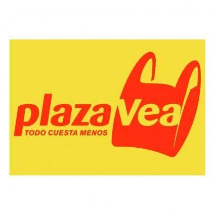 free vector Plaza vea