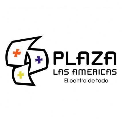 free vector Plaza las americas