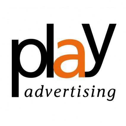 free vector Play advertising