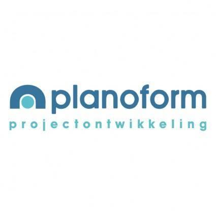 free vector Planoform projectontwikkeling