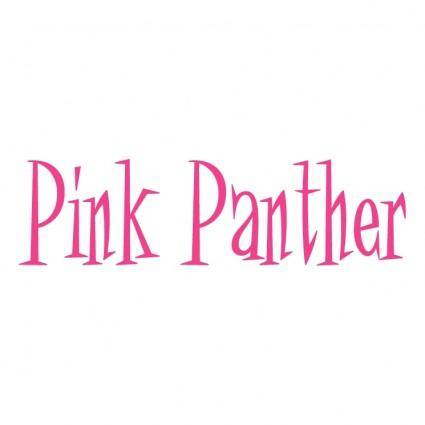 free vector Pink panther