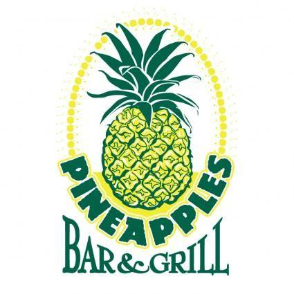 free vector Pineapples