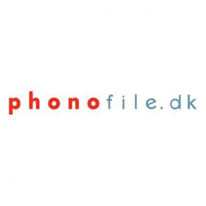 Phonofiledk