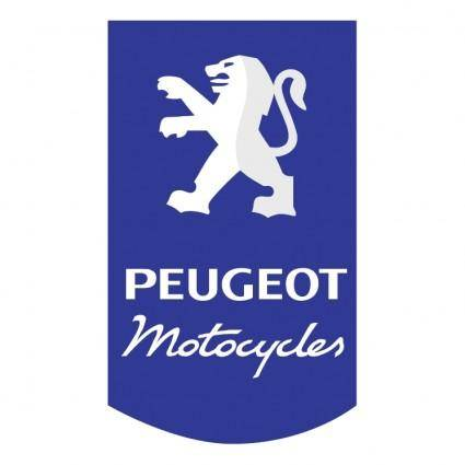 free vector Peugeot motocycles