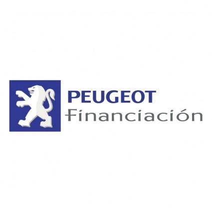 free vector Peugeot financiacion