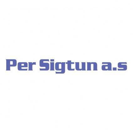 free vector Per sigtun as