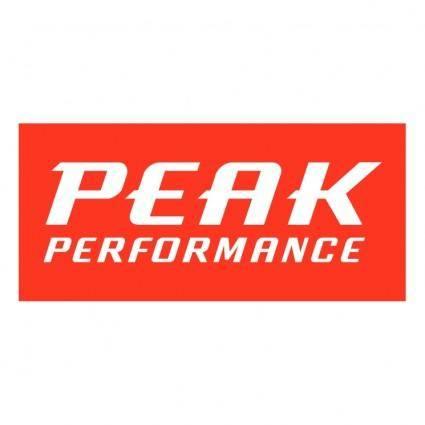 free vector Peak performance