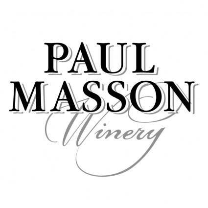 free vector Paul masson