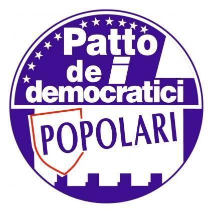 free vector Patto dei democratici popolari