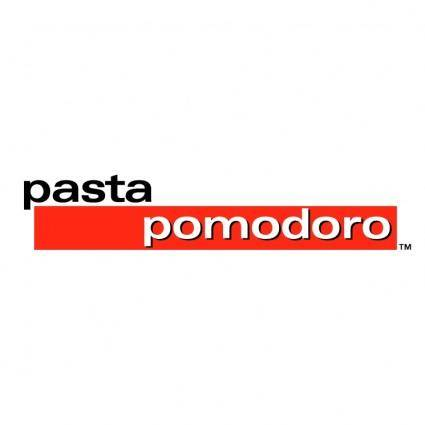 free vector Pasta pomodoro