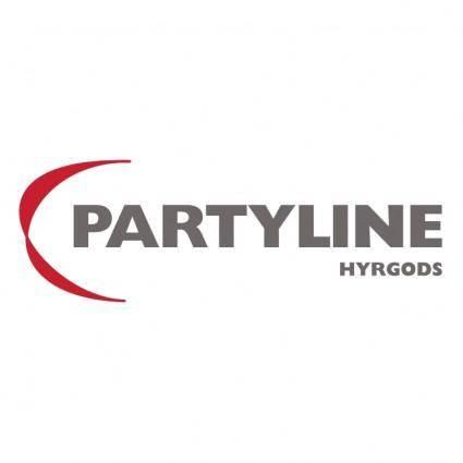 Partyline hyrgods