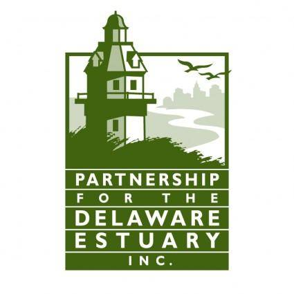 free vector Partnership for the delaware estuary