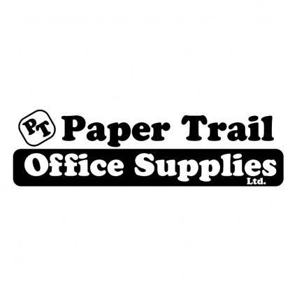 free vector Paper trail office supplies ltd
