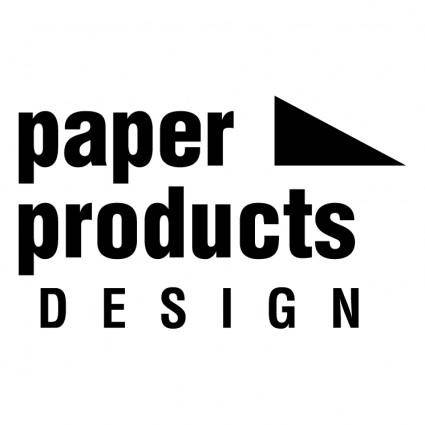 Paper products design