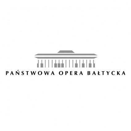 Panstwowa opera baltycka