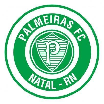free vector Palmeiras futebol clube de natal rn