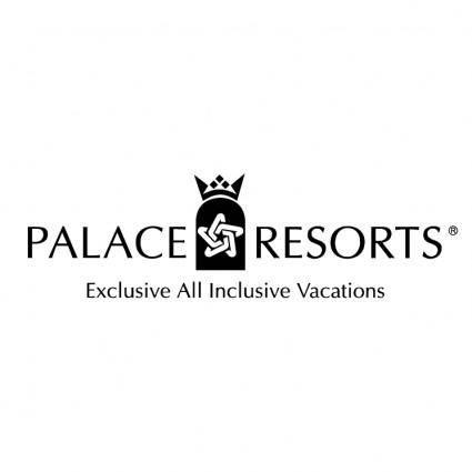 free vector Palace resorts