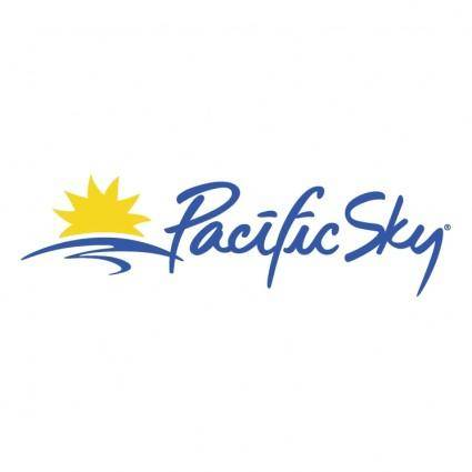 free vector Pacific sky