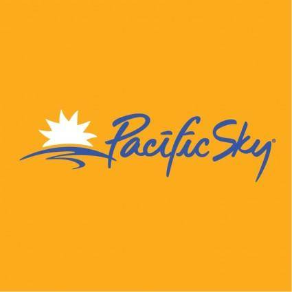 free vector Pacific sky 1