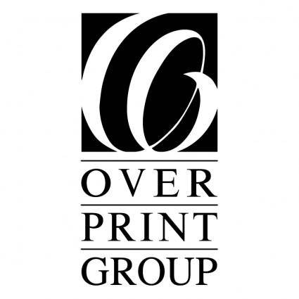 free vector Overprint group