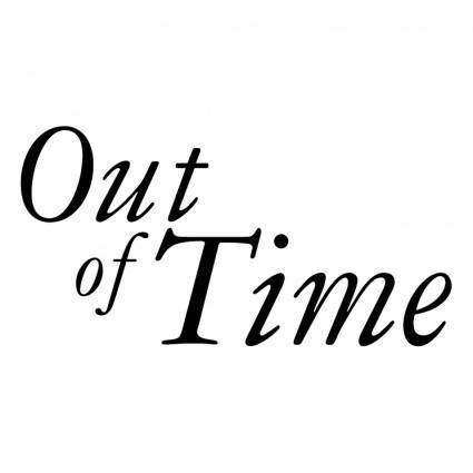 free vector Out of time