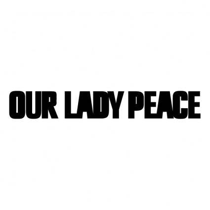 free vector Our lady peace