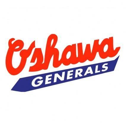 free vector Oshawa generals