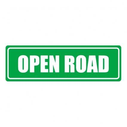 free vector Open road