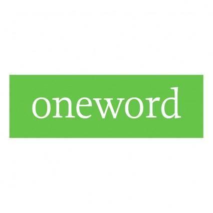 free vector Oneword
