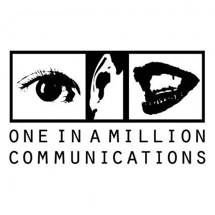 One in a million communications