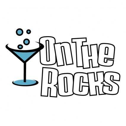 free vector On the rocks