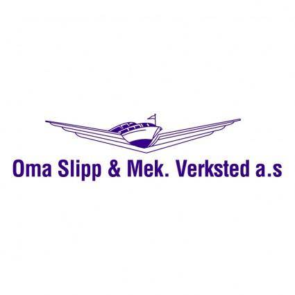 Oma slipp mek verksted as