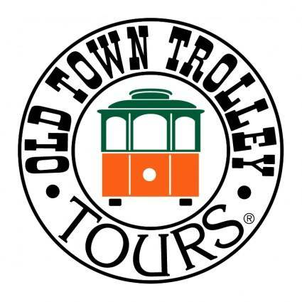 free vector Old town trolley tours