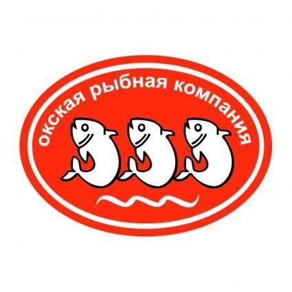 free vector Okskaya rybnaya companiya