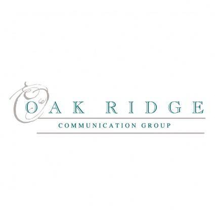 free vector Oak ridge communication group
