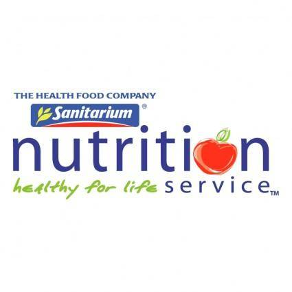 Nutrition service