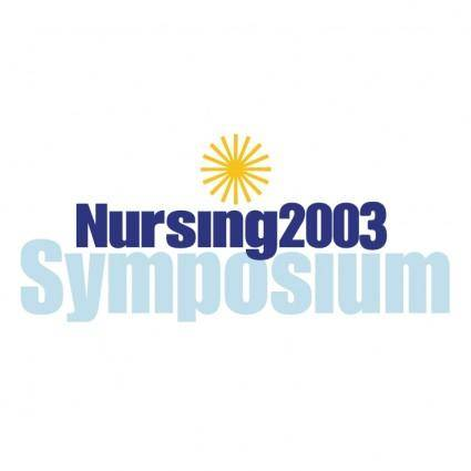 Nursing 2003 symposium