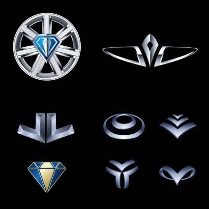 free vector Metal style vector