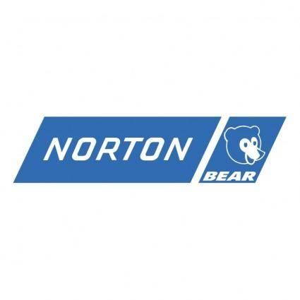 free vector Norton bear