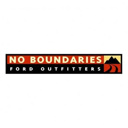 No boundaries ford outfitters
