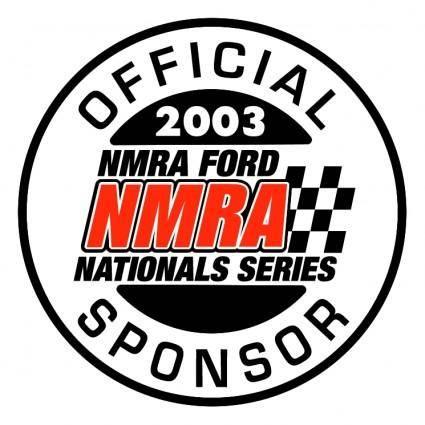 free vector Nmra official 2003 sponsor