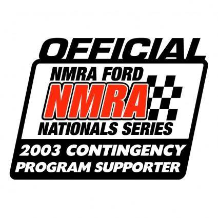 free vector Nmra official 2003 contingency program supporter